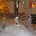 und schneit